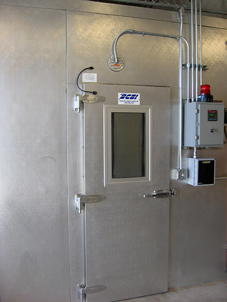 explosion proof door